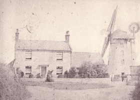 Possibly the oldest photo of Stow Mill