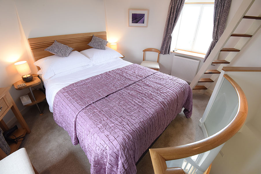 Bedroom, Stow Mill Holiday Cottage, Norfolk