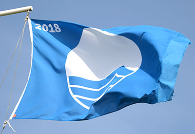 Mundesley Blue Flag beach award